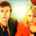 The Tenth Doctor and Rose Tyler