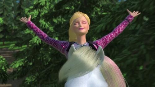 Barbie And Her Sisters In A gppony, gppony, pony Tale karatasi la kupamba ukuta titled Barbie In A gppony, pony Tale