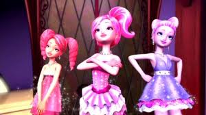 Barbie In a Fashion Fairytale! karatasi la kupamba ukuta called b a r b i e