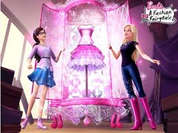 Barbie In a Fashion Fairytale! wallpaper titled b a r b i e