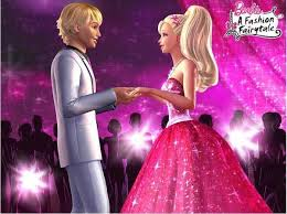 Barbie In a Fashion Fairytale! پیپر وال possibly with a رات کے کھانے, شام کا کھانا dress entitled b a r b i e