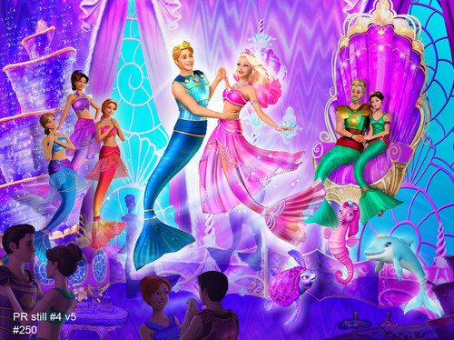 filmes de barbie wallpaper possibly containing a fonte entitled barbie the pearl princess