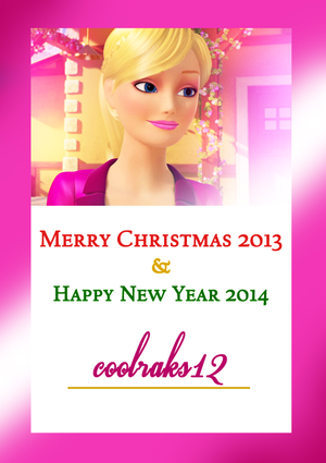 Merry Christmas coolraks12!