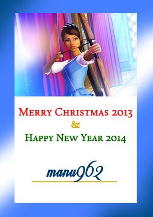 Merry 圣诞节 manu962!