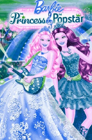 Barbie the princess and the popstar recoloured