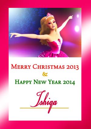 Merry クリスマス Ishiqa!