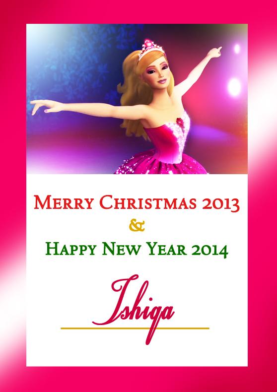 Merry Christmas Ishiqa!