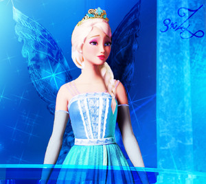Princess Catania as The Snow Queen,