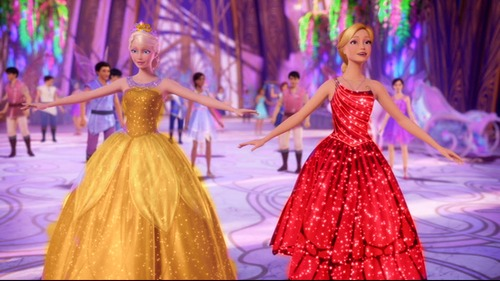 Filem Barbie kertas dinding possibly with a makan malam, majlis makan malam dress, a gown, and a balldress called new vg785454