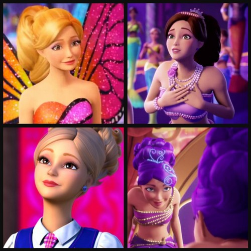 Barbie-Filme Hintergrund titled LOOK ABOUT THE HAIR IS LIKE