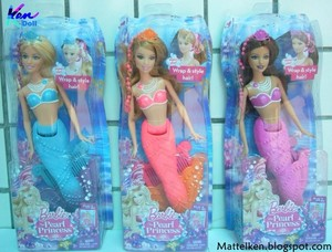 Barbie Pearl Princess Dolls