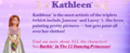 Official Description according to Kathleen's Quiz