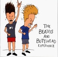 Beavis and Butt-Head headbanging  - beavis-and-butthead wallpaper