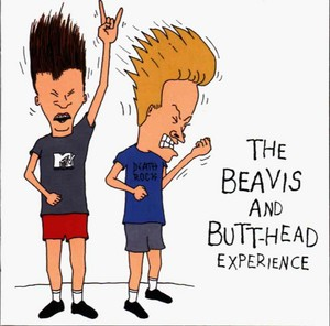 Beavis and Butt-Head headbanging