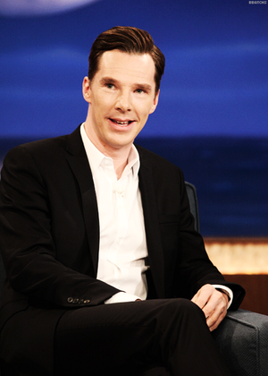 Benedict on Conan O'Brien