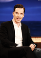 Benedict on Conan O'Brien - benedict-cumberbatch photo