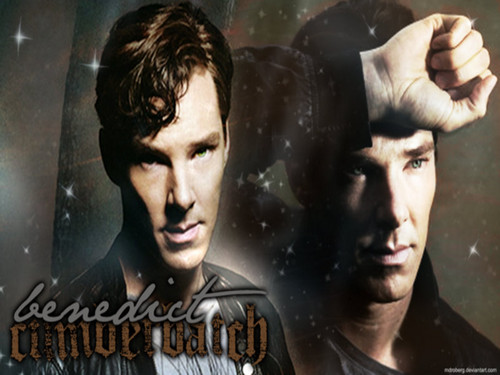 Benedict Cumberbatch wolpeyper with anime titled Benedict ★