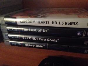 Kingdomhearts/The Last Of Us/Beyond Two Souls/Heavy Rain
