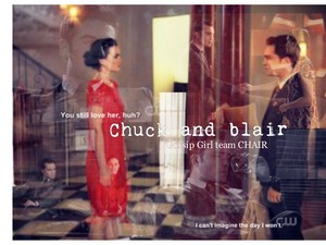 Chuck and Blair forever Cinta