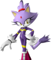 hot blaze the cat