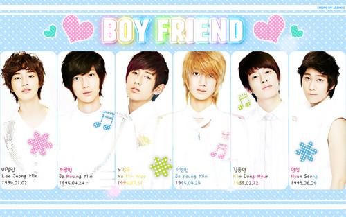 Boyfriend wallpaper entitled ♥ Boyfriend ♥
