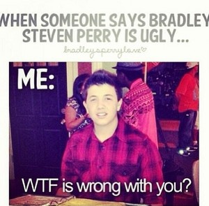 If আপনি EVER call Bradley Steven Perry ugly…