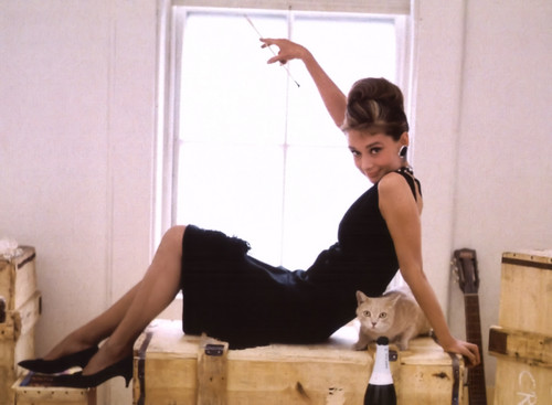 Breakfast At Tiffany's wallpaper containing a packing box entitled Breakfast at Tiffanys