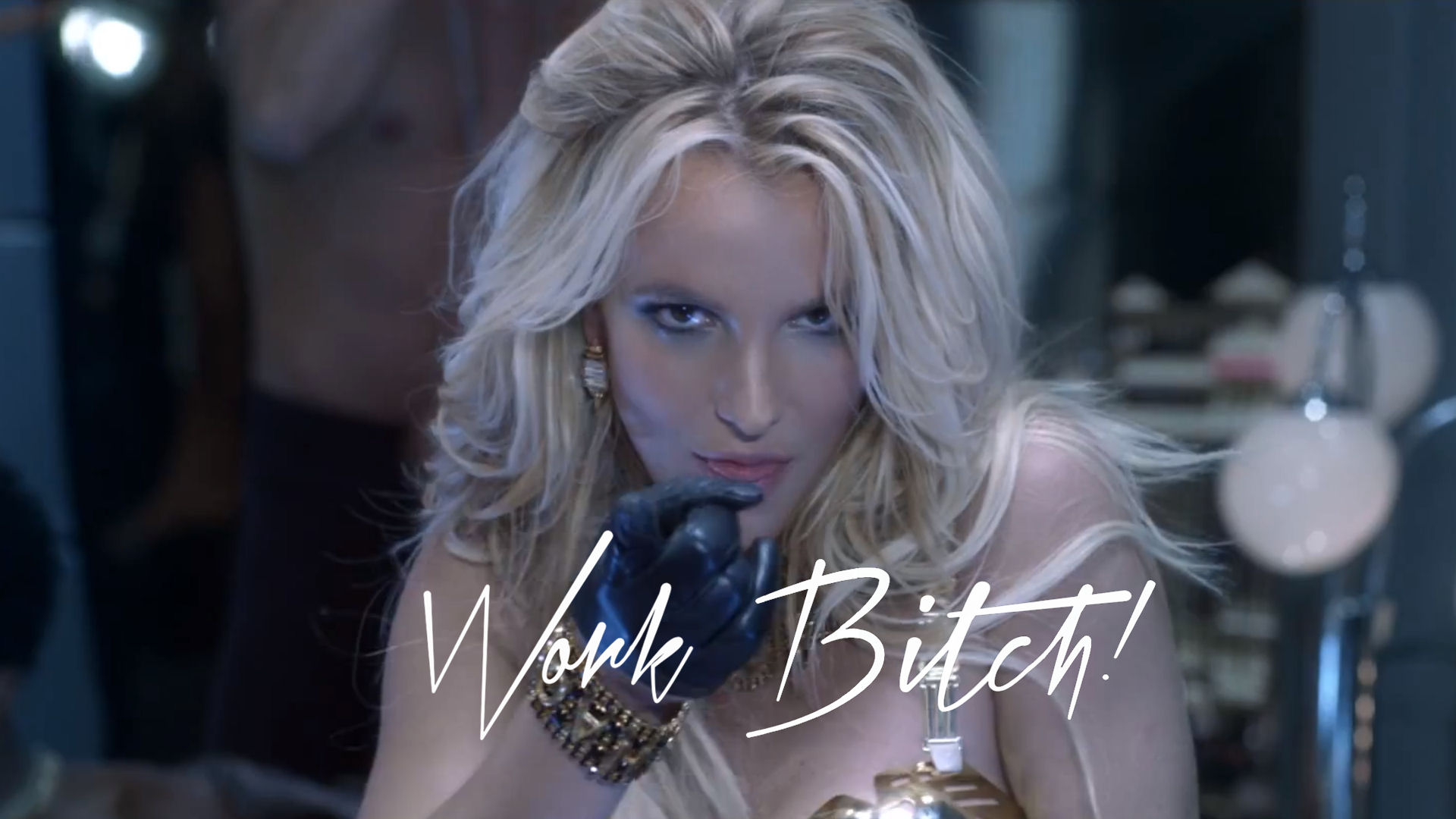 Britney spears work bitch uncensored version