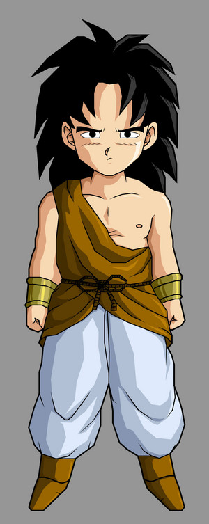 Broly kid as a kid