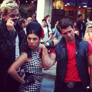 Ross with Bikers