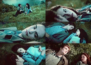 Edward and Bella collage