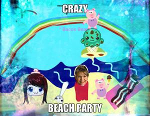 CRAZY समुद्र तट PARTY