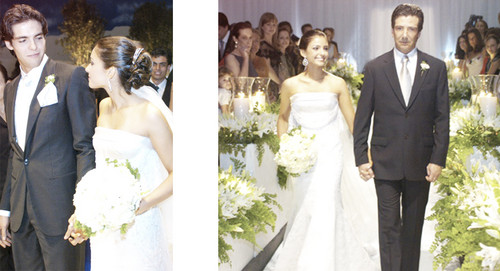Caroline Celico wallpaper with a bridesmaid and a business suit called WEDDING DAY