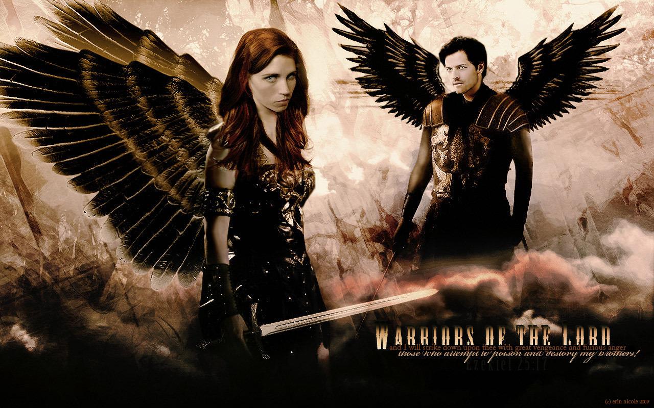 Castiel and Anna