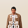 Castiel photo probably containing a sweat-shirt called Castiel icones