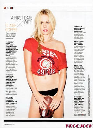 Claire Coffee Magazine Scan