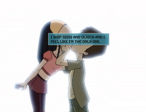 Code Lyoko fond d'écran entitled Sissi and Ulrich