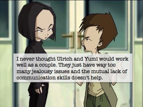 Code Lyoko kertas dinding with Anime called Yumi and Ulrich