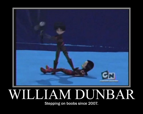 Code Lyoko kertas dinding entitled William Dunbar