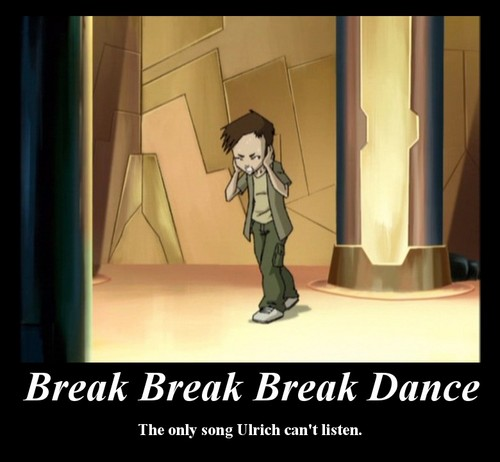 Code Lyoko kertas dinding possibly containing a well dressed person and a surcoat called Break Break Break Dance