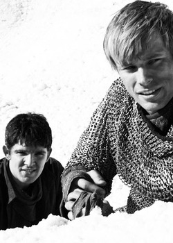 Colin مورگن and Bradley James - BTS