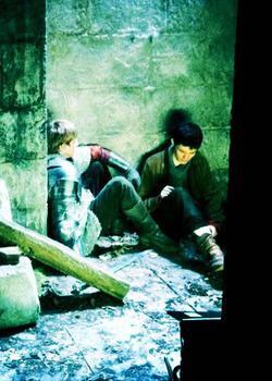 Colin morgan and Bradley James - Bangtan Boys