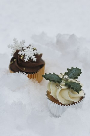 Winter 纸杯蛋糕