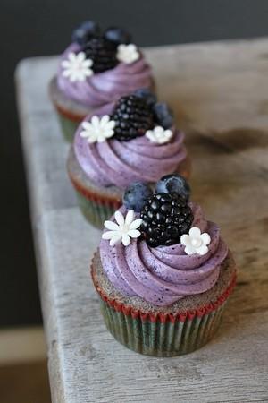 Purple 컵케익