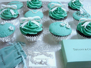 कपकेक from Tiffany and Co.