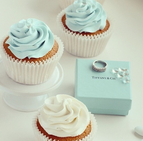 Cupcakes wallpaper containing a cupcake, a cream cheese, and a frosted layer cake titled Cupcakes from Tiffany and Co.