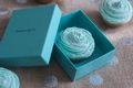 cupcake from Tiffany and Co.