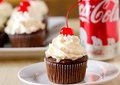 Cherry Coke Cupcakes - cupcakes photo
