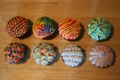 Colorful Swirled Cupcakes