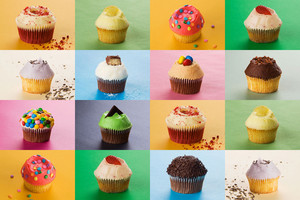Cupcakes Collage